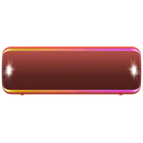 Boxa portabila SONY SRS-XB32, EXTRA BASS, Bluetooth, NFC, Wireless, Party Booster, Wireless Party Chain, LIVE SOUND, Waterproof, Rosu
