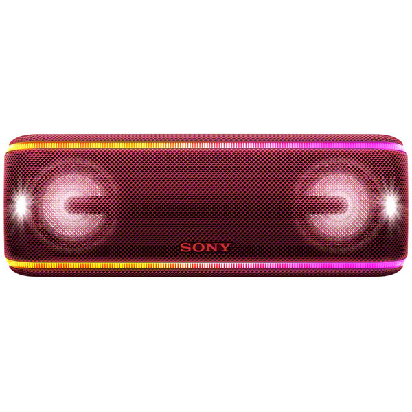 Boxa portabila SONY SRS-XB41R, Bluetooth, NFC, Wireless, EXTRA BASS, Party Booster, Waterproof, rosu