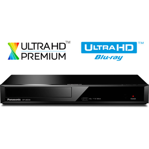 Blu-ray player Smart Ultra HD 4K PANASONIC DP-UB330EGK, Wi-Fi, USB, negru