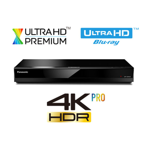 Blu-ray player Smart Ultra HD 4K PANASONIC DP-UB420EGK, Wi-Fi, USB, negru