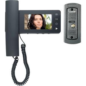 Interfon video de poarta HOME DPV 24, 4,3 inch, color