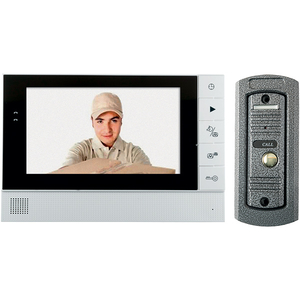 Interfon video de poarta HOME DPV 25, 7 inch, color