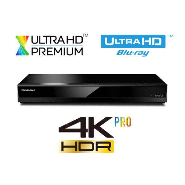 Blu-ray player Smart Ultra HD 4K PANASONIC DP-UB420EGK, Wi-Fi, USB, negru
