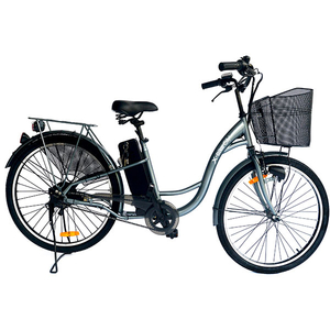 Bicicleta de oras Electrica EVOLIO X-BIKE City, 26 inch, gri inchis