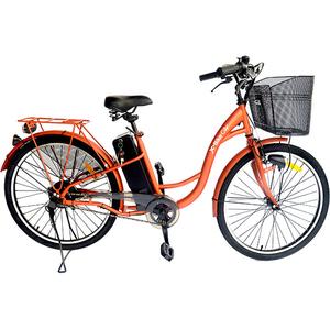 Bicicleta de oras Electrica EVOLIO X-BIKE City, 26 inch, portocaliu