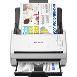 Scanner EPSON WorkForce DS-530N, A4, USB, Retea, alb