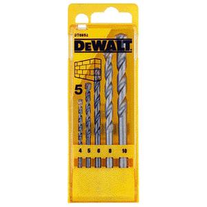 Set 5 burghie pentru zidarie DEWALT DT6952