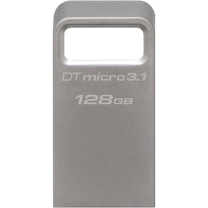 Memoire USB KINGSTON DataTraveler Micro 3.1, 128GB, USB 3.1, argintiu