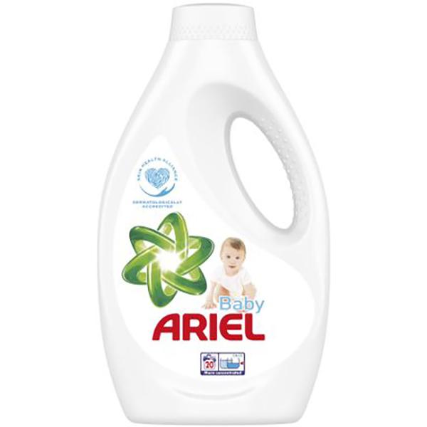 Detergent lichid ARIEL Baby, 1.1l, 20 spalari