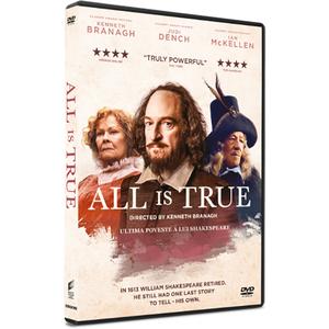 Ultima poveste a lui Shakespeare DVD