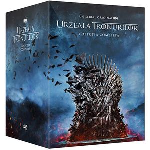 Urzeala tronurilor Colectia Completa DVD