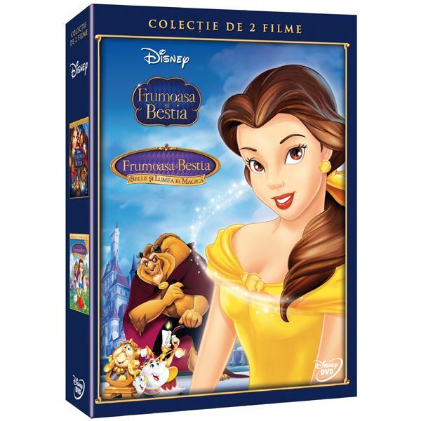 Frumoasa si Bestia - Editie de colectie 2 filme DVD
