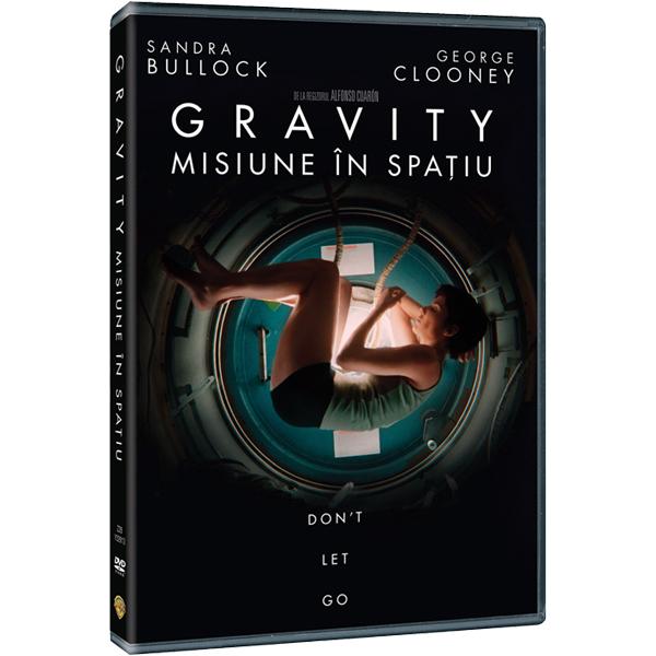 Gravity - Misiune in spatiu DVD
