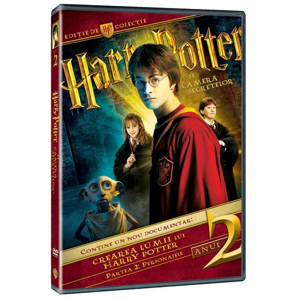 Harry Potter si Camera Secretelor - Editie de colectie (3 DVD)