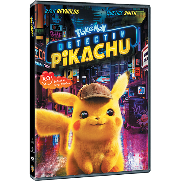Pokémon Detectiv Pikachu DVD