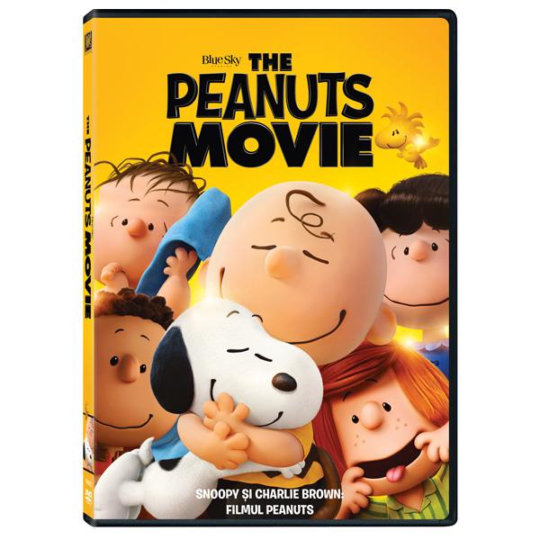 Snoopy si Charlie Brown: Filmul Peanuts DVD
