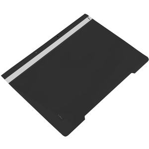 Dosar cu sina NOKI, A4, plastic, 25 bucati, negru