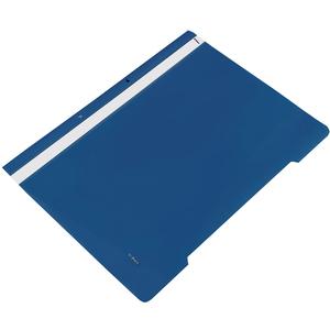 Dosar cu sina NOKI, A4, plastic, 25 bucati, bleumarin