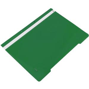 Dosar cu sina NOKI, A4, plastic, 25 bucati, verde