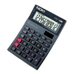 Calculator de birou NOKI, 12 cifre, negru