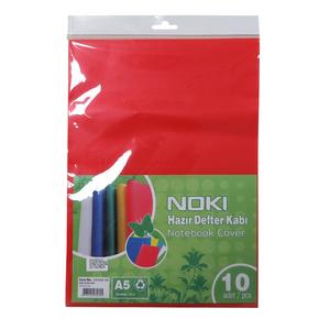 Coperta caiet NOKI, A5, 10 bucati, rosu