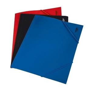 Mapa documente cu elastic NOKI, A4, polipropilena, rosu