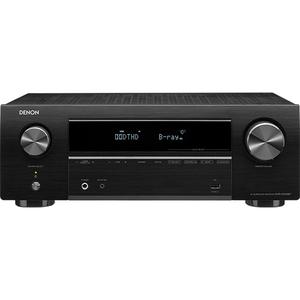 Receiver DENON AVR-X550BT, 140W RMS, Bluetooth, negru
