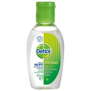 Gel dezinfectant pentru maini DETTOL, 50ml