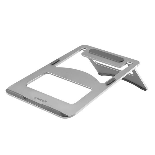 Suport laptop PROMATE DeskMate-3, aluminiu, argintiu