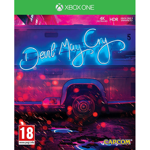 Devil May Cry 5 Deluxe Steelbook Edition Xbox One