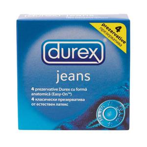 Prezervative DUREX Jeans, 4buc