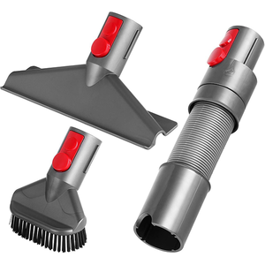 Kit DYSON Home Cleaning: Furtun flexibil Extension hose + Perie Stubborn brush + Perie Mattress tool