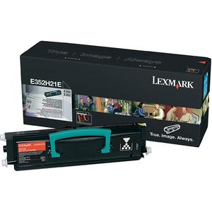 Toner LEXMARK XL E352H21E, negru