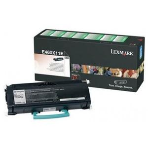 Toner LEXMARK XXL E460X11E Return Program, negru