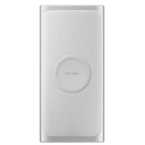 Baterie externa SAMSUNG EB-U1200CSEGWW, 10000 mAh, Type C, Wireless QI, arginitiu