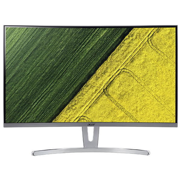 """Monitor curbat LED VA ACER ED273Awidpx, 27"""", Full HD, 144Hz, FreeSync, argintiu - alb"""