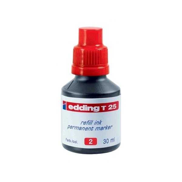 Tus marker EDDING, 30 ml, rosu