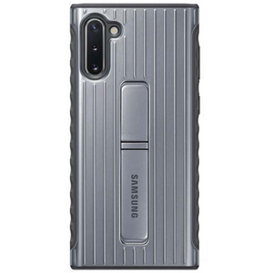 Carcasa Protective Stand pentru SAMSUNG Galaxy Note 10, EF-RN970CSEGWW, argintiu
