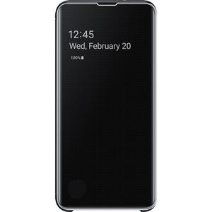 Husa Clear View pentru SAMSUNG Galaxy S10e EF-ZG970CBEGWW, black