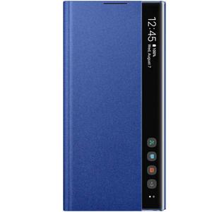Husa Clear View pentru SAMSUNG Galaxy Note 10 Plus, EF-ZN975CLEGWW, albastru