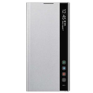 Husa Clear View pentru SAMSUNG Galaxy Note 10 Plus, EF-ZN975CSEGWW, gri