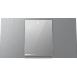 Microsistem audio PANASONIC SC-HC1020EGS, BT, CD, USB, MP3, argintiu