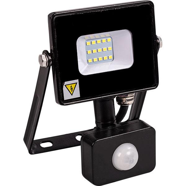 Proiector LED cu senzor NOVELITE EL0037208, 10W, negru