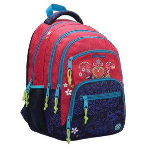 Ghiozdan de scoala CATALINA ESTRADA Azul, rosu-albastru