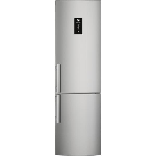 Combina frigorifica ELECTROLUX EN3790MKX, No Frost, 319 l, H 200.5 cm, Clasa A++, argintiu