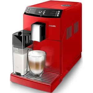 Espressor super automat Philips Seria 3100 Glossy Red EP3363/10, 1.8l