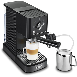 Espressor manual KRUPS XP345810, 1l, 15 bar, negru