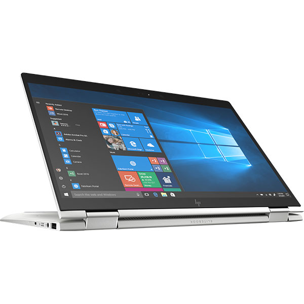 "Laptop HP EliteBook x360 1040 G5, Intel Core i5-8250U pana la 3.4GHz, 14"" Full HD Touch, 16GB, SSD 256GB, Intel UHD Graphics 620, Windows 10 Pro, Argintiu"