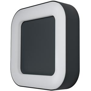 Aplica exterior OSRAM Endura Style Square, 13W, IP44, gri inchis