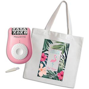 Epilator ROWENTA Fashion Pretty EP1107F0 + cadou, roz